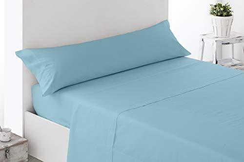 Cabetex Home - Juego sábanas Lisas - 3 Piezas - Microfibra