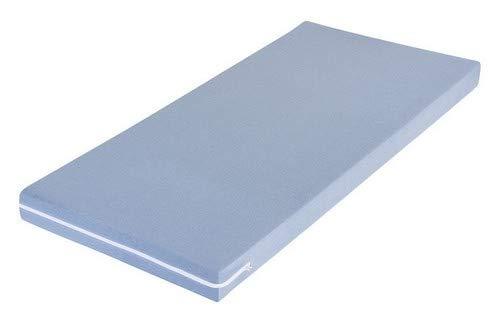 MSS Schaumstoffmatratze, Polyester, Blau, 150 x 200 cm