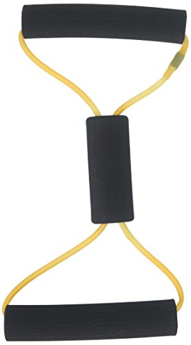 Cando®Fitness-Toner, Bow-Tie Tube - schmal (35,5 cm) - beige (sehr sehr leicht) (Cando-übungsband)