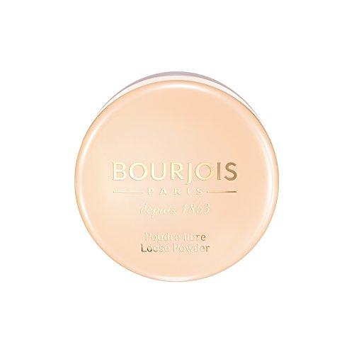 Bourjois Cipria in Polvere Libera Loose Powder, Formula Opacizzante e Uniformante, Spugnetta e Dosatore Inclusi, 02 Pink