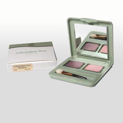 Hagina Lidschatten-Duo Madeira, Farben lila-pink, 3g -