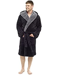 MICHAEL PAUL Men's Luxury Soft Fleece Dressing Gown