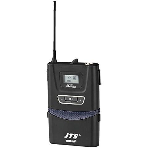 Trasmettitore di tasca UHF PLL con micro cravatta