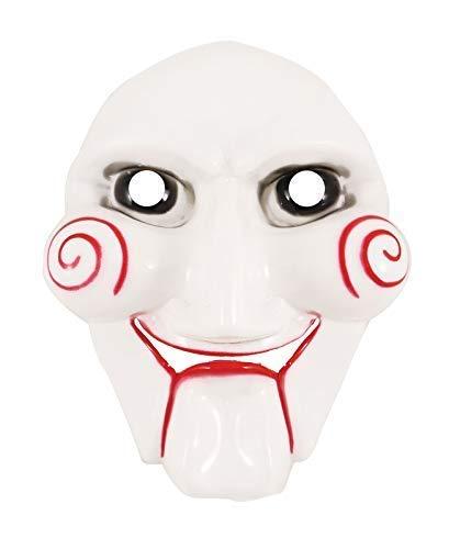 21FASHION Erwachsene Gruselig Halloween Puzzle Gesichtsmaske Unisex Kostüm Cosplay Zubehör - Puzzle Gesichtsmaske, One Size (Fit All) (Halloween Für Erwachsene Puzzles)