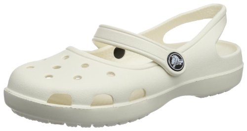 crocs Shayna Womens Womens 11212/159/520, Damen Clogs, Elfenbein, EU 42/43 (Jane-comfort-clogs Mary)