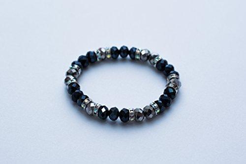 Preisvergleich Produktbild Made With Love Chakra Perlen-Armband aus Natursteinen, Kristal