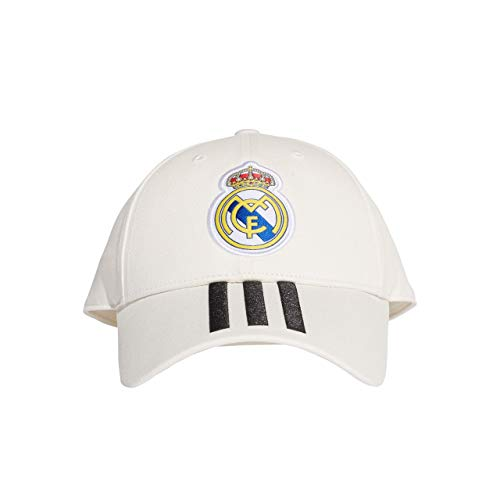 Adidas Real Madrid 3-Stripes Gorra Algodón - Gorros