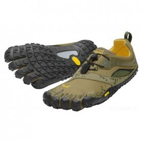 Vibram Five Fingers - Spyridon MR (Herren) - Zehenschuhe - Military Green/Black Größe: 40