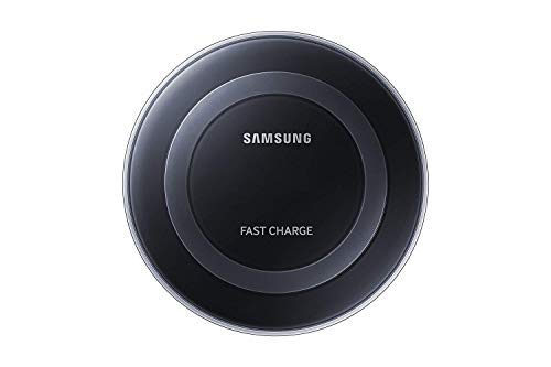 Samsung Qi Certified Fast Charge Wireless Charging Pad for Qi Compatible Smartphones with Built in Cool Fan   Retail Packaging   Black