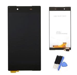 Sony Xperia Z5 E6603 E6653 kompatibles Ersatz Display LCD Touch Screen Glas Scheibe schwarz + Werkzeug & Klebeband