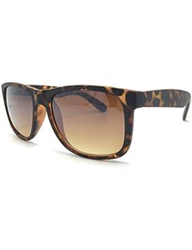 Optica Vision-Specs Vision-Specs square rectangulaire lunettes de soleil 165 sunglasses, Ref. V130, Color havana...