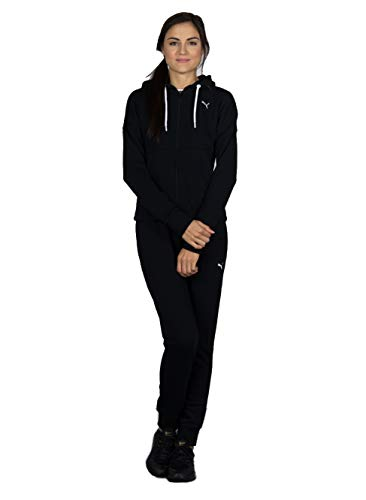 Puma Classic HD. Sweat Suit, cl Survêtements Femme, Cotton Black, FR (Taille Fabricant : XL)