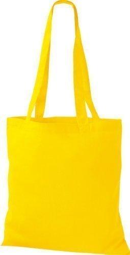 ShirtInStyle Premium Stoffbeutel Baumwolltasche Beutel Shopper Umhängetasche viele Farbe yellow