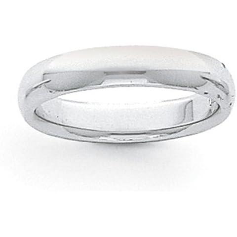 Icecarats Designer Di Gioielli Dimensione 8 5 Millimetri Di Platino Comodità Semicircolare Fit Banda Leggero - 8 Millimetri Platinum Wedding Band