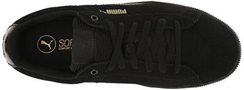 Puma Vikky Daim Baskets Black-Black