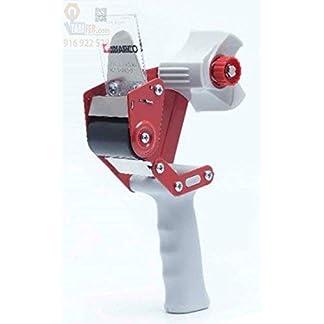 Miarco 23200 Máquina de precintar, Roja y negra