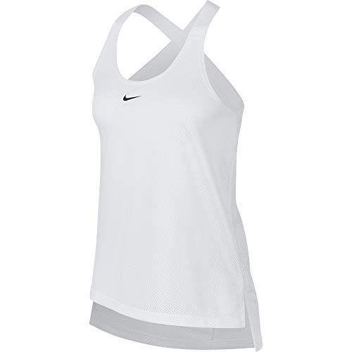 hot sale online 91d3d e41b5 Nike Dry, Canotta Top Donna, White Black, M