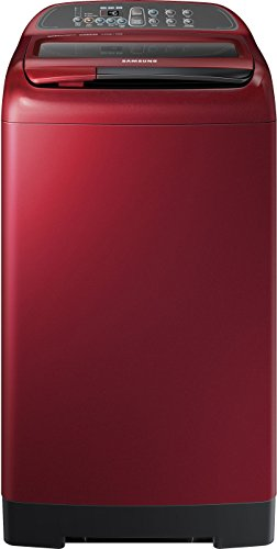 Samsung Wa75k4000hp/tl Fully-automatic Top-loading Washing Machine (7.5 Kg, Scarlet Red)