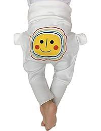 LIUONEXI Baby Herbst Winter Pumphose Cartoon Haremshose 100% Baumwolle Baby Hose für Mädchen Schlupfhose
