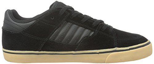 Element Glt2 Herren Sneakers, Baskets Basses Homme Noir - Schwarz (4298 Black Gum)