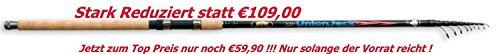 Lineaeffe Tremarella Rute Union Jack 3,90 m Forellenrute 5-25 Gramm Angelrute