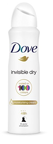 Dove Invisible Desodorante Aerosol 250ml - [Pack de 3]