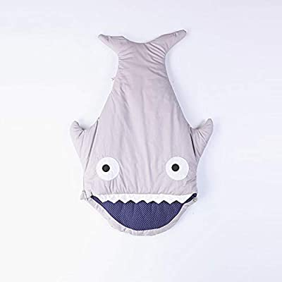 Triplsun Saco de dormir Baby Shark - Código M, código L, adecuado para cestas de compras, cochecitos, asientos de seguridad