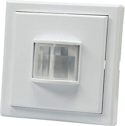 Funk-Bewegungsmelder - Wandeinbau - Batteriebetrieb - LED geeignet