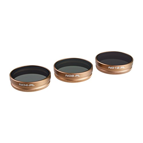 PolarPro DJI Phantom 4 Filter Cinema Series - Vivid Collection 3-Pack Filter