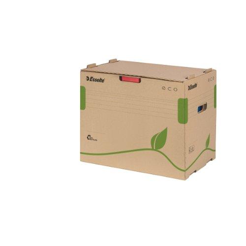 Esselte 623920 Archiv Container ECO, für Ordner, Karton, naturbraun