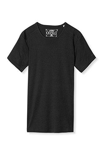 ESPRIT Herren T-Shirt 996ee2k905 Schwarz (Black 001)