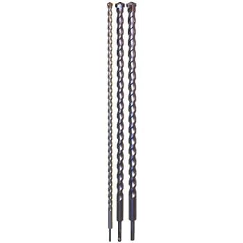 silverline 633828 sds plus steinbohrer 3 tlg satz 1500 mm baumarkt. Black Bedroom Furniture Sets. Home Design Ideas