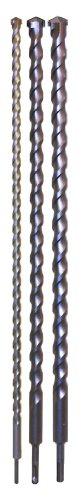 Rolson 48695 - Juego de brocas (tamaño: 1000mm, pack de 3)