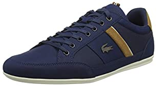 Lacoste Men's Chaymon 119 5 CMA Trainers, Blue (NVY/Lt BRW 4c1), 11 UK (B07DJ5SY2B) | Amazon price tracker / tracking, Amazon price history charts, Amazon price watches, Amazon price drop alerts
