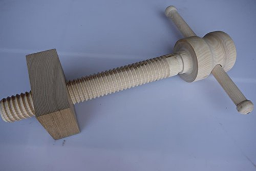 Schraubstock aus Holz für Hobelbank Schraube in Holz lang 330mm