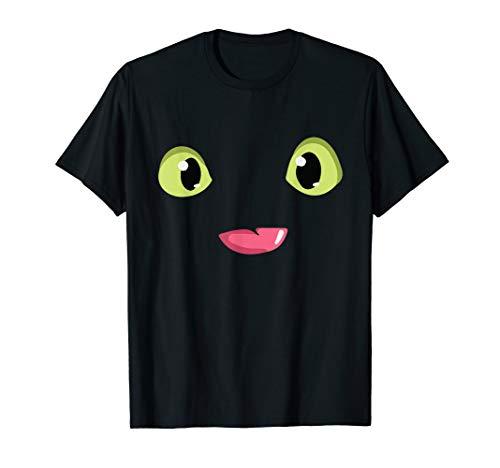 Cat Green Eyes Smile T-Shirt