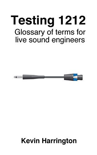 sound engineering glossary Retrieved from [sound engineering] | sound engineering education level requirements.
