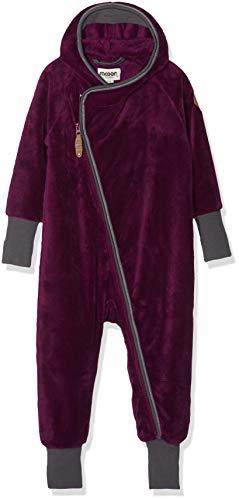 Racoon Baby-Mädchen Hennie Teddyfleecespieler Spieler, Violett (Dark Purple DAR), 92
