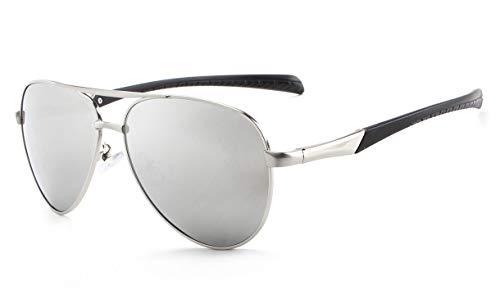 Midsy Flieger Sonnenbrillen John Lennon Glasses Polarisierte Pilotenbrillen Polfilter Driving Brille Autofahren Halbrahmen Sonnenbrille