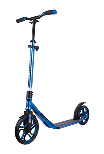 HUDORA Scooter Roller CLVR 250, Tret-Roller, Kickboard, Klapproller, blau, 14834 (Mobil Scooter)
