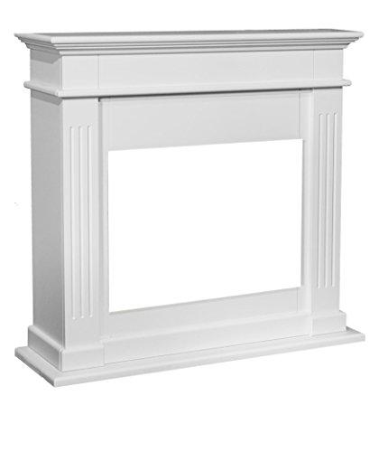 Chimenea falsa en color crema blanco 844rubyfires Elda Optiflame de madera DM...