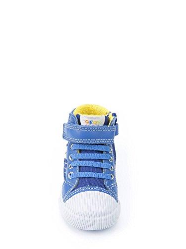 Geox , Chaussures de ville à lacets pour garçon Bleu
