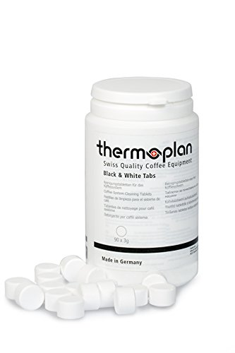 Tabletten für Kaffeevollautomaten Thermoplan | 90 Tabs a 3 g | Black & White , CTS, CTM, ctmf5, Easyline, barbeanie, One, Tiger, Tiger Cool