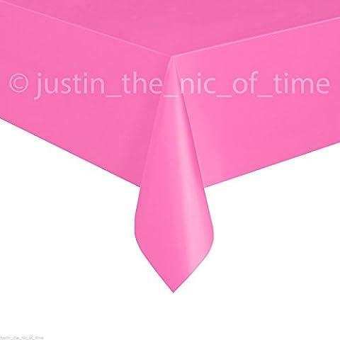Bright Pink plastica tablecovers Tovaglia Tavola Feste ristorazione,