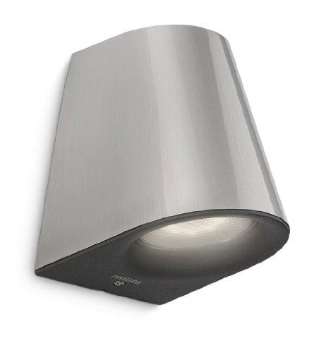 D tecteur luminaire acier for Applique murale exterieur detecteur de mouvement