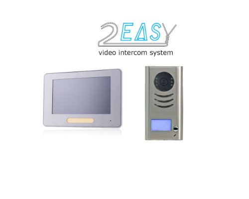 Colour Video Door Phone Dual Wire Technology for Detached House and Picture Memory