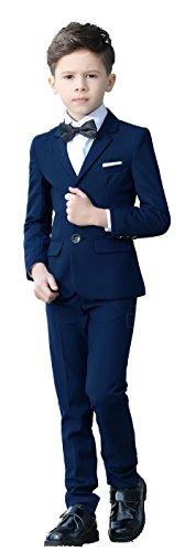 Yuanlu Anzug für Jungen anzug festlich hochzeit Jungenanzug 5~6 Jahre blau