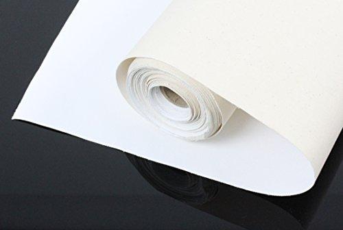 LEINWAND auf ROLLE 10m x 100cm aus 100% BW 380gr/m², mehrfach vorgrundiert, Leinwandrolle