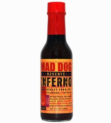 Mad Dog Reserve Inferno Hot Sauce by Ashley Food Company 148ml