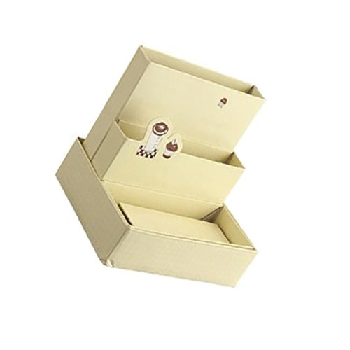 DIY Papier Storage Box Papierkiste Dekor Briefpapier Organizer Kosmetik- Box